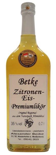 Zitronen Eis Likör Betke Niederhofen