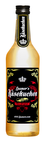 Laumers Käsekuchenlikör Käsekuchencocktail trinken Deutschland
