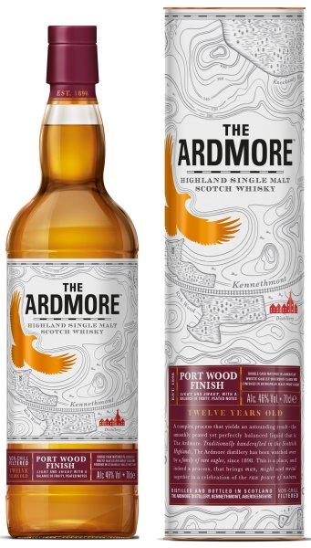 Ardmore Port Wood Finish 12 Jahre whisky aus schottland