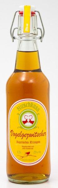 Hirschkuss Vogelgezwitscher 500 ml. 25% vol