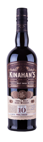 Kinahans Single Malt Irish Whisky 10 Jahre