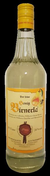 Prinz der feine Honig Birnerla 1000 ml. 34 % vol.