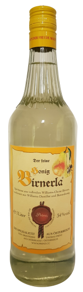 Prinz der feine Honig Birnerla 1,0 ltr. 34 % vol.