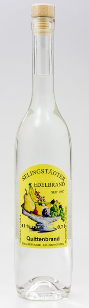 Selingstädter Quittenbrand 0,7 ltr 41% vol