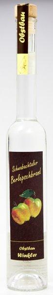 Schwabachtaler Berlepschbrand 0,35 ltr 40 %vol