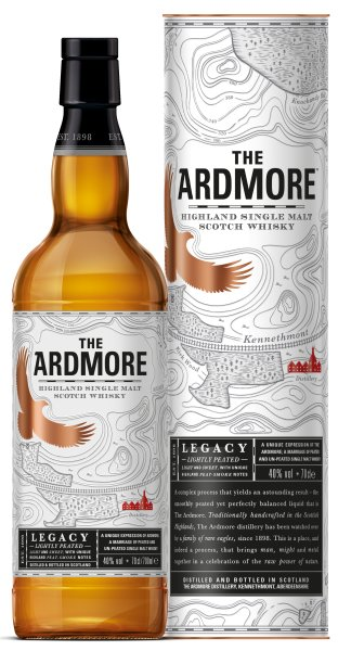 Ardmore Legacy lightly Peated 0,7 ltr. 40% Vol.