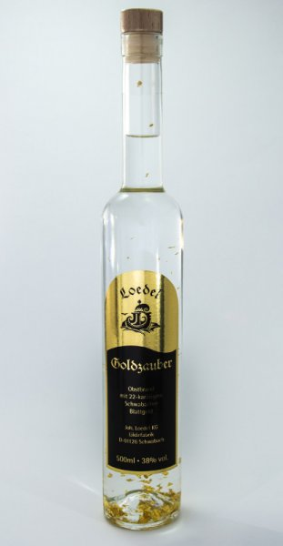 Loedel Goldzauber 0,5 ltr 38%vol.