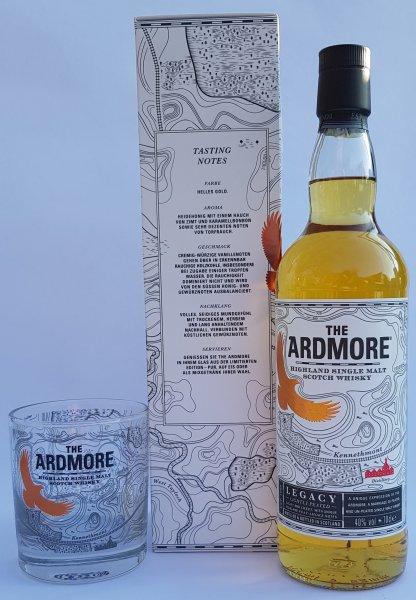 Ardmore Legacy lightly Peated Geschenkset whisky online kaufen