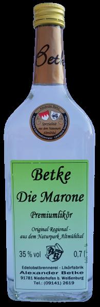 Betke Niederhofen Marone neuer Likör