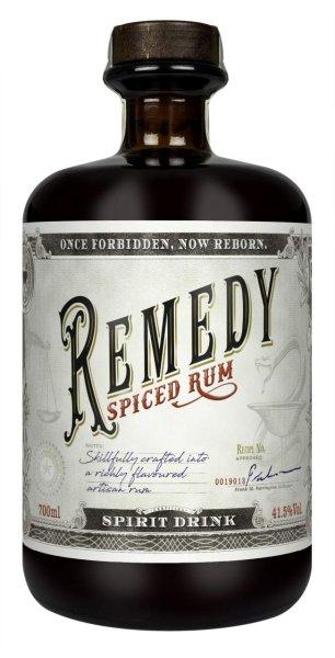 Remedy Spiced Rum für jeden der etwas neues braucht