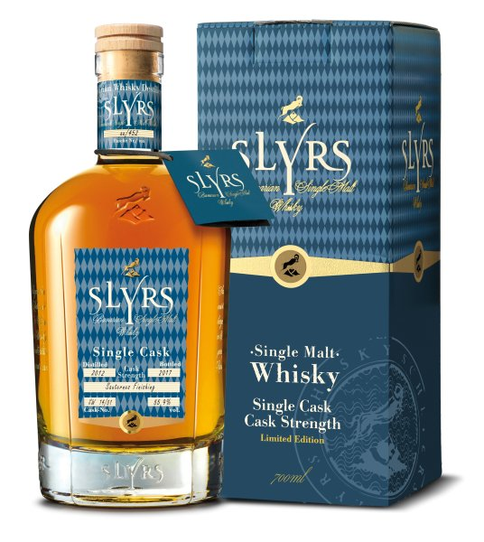 Slyrs Single Malt Whisky Cask Strength Single Cask Limited Edition