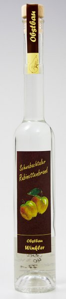Schwabachtaler Rubinettenbrand 0,35 ltr 40 % vol
