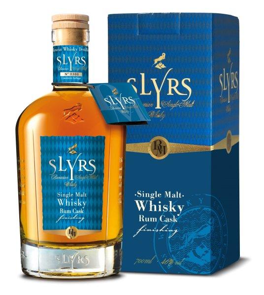 Slyrs Single Malt Whisky Rum Cask finishing