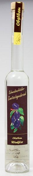 Schwabachtaler Zwetschgenbrand 0,35 ltr 40 % vol
