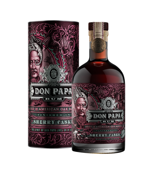 Don Papa Sherry Cask, Obstler Rum und Whisky